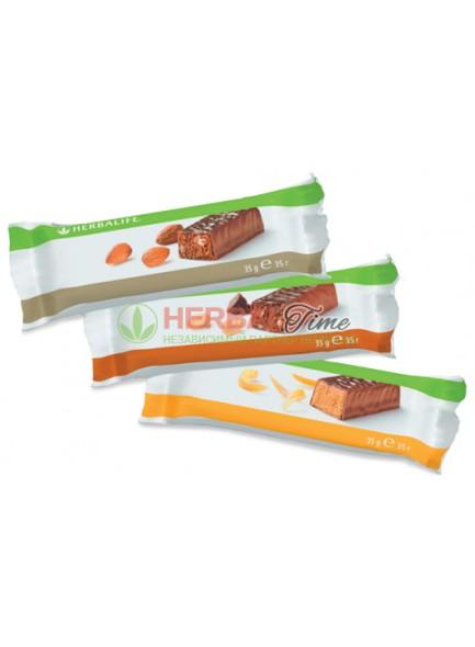 Протеиновый батончик Гербалайф Шоколад-арахис