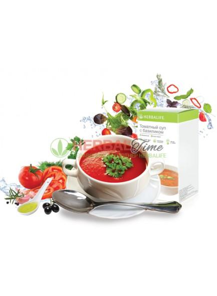 Томатный суп Гербалайф с базиликом